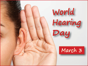 March 3—World Hearing Day—turning up the volume on noise prevention