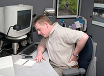 Ergonomics info: Work shouldn't hurt