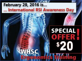 Enhanced and specially-priced WHSC training offered in support of RSI Day