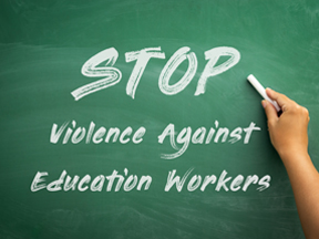 Workplace violence growing in education sector, study finds