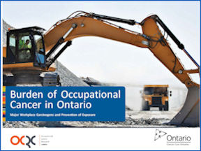 Groundbreaking report focuses on occupational cancer prevention in Ontario