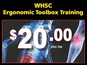 Specially-priced WHSC training offered in support of Ergonomics Month