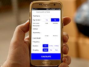 NIOSH launches new mobile app based on Revised NIOSH Lifting