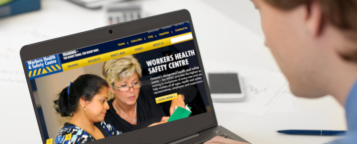 Worker reviews health and safety organizations dedicated to achieving safer and healthier workplaces and communities
