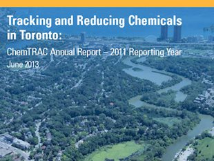 Toronto ChemTRAC report helps target cancer prevention, toxics reduction