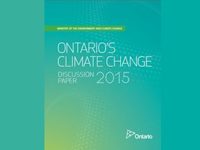 Ontario launches public consult on climate change