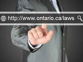 Ontario health and safety law accessible through new e-Laws website